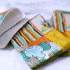 Pretty Fabrics & #Sewing Handmade Baby Burping Clothes for Shower Gifts