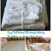 Sewing: How To Make A Crib Size Duvet Cover