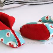 Quick and Easy Sewing For Baby - Baby Booties and Pattern