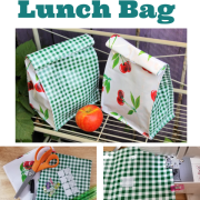 DIY Lunch Bag - How To Instructions With Images!