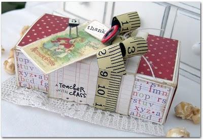 Handmade Teachers Gift