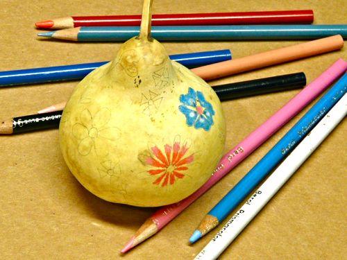 Banana Bread & A Gourd Ornament Tutorial