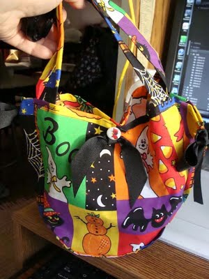 Halloween Candy Bag Tutorial Finished bags~