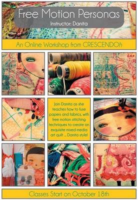 Art Quilt E Class with Danita