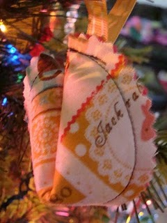 Fortune Cookie Ornaments, ornaments, holidays, Christmas, Christmas ornaments