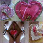 crafting, sewing, Valentines Day, Valentines, Hearts, Crafting