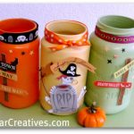 Mason Jars, Mason Jar Crafts, Halloween, Halloween decor