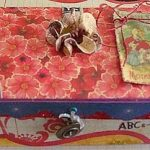 Teacher's Gifts, decorated box, paper-crafts, crafting