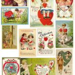 PaperScraps on Flickr,freebie, paper-scraps, printable-2, valentines-day, vintage-2, vintage-cards