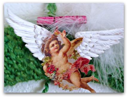 Valentine Wreath & Vintage Valentine Printables
