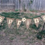 Spring No Sew Banner , crafting, banners, crafts