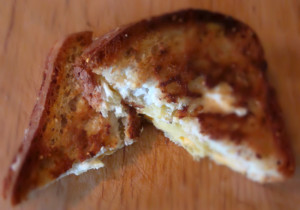 Mediterranean Grilled Cheese