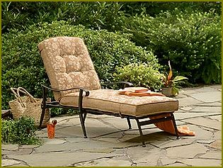 Jaclyn smith patio furniture home design ideas and pictures for Brookner chaise lounge