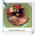 Parmesan Crusted Chicken, dearcreatives.com recipes
