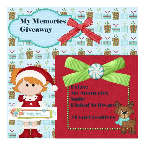 #GiveAway Time! My Memories Suite Digital Software