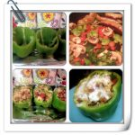 stuffed bell peppers, stuffed bell peppers step by step images, stuffed bell pepper recipe, dearcreatives.com recipes