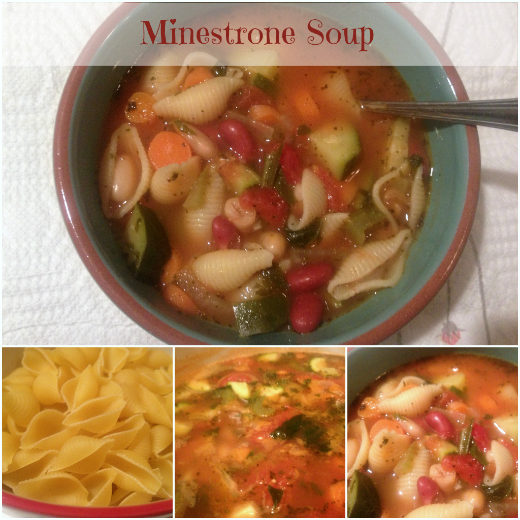 Minestrone Soup DearCreatives.com Theresa Huse 2013