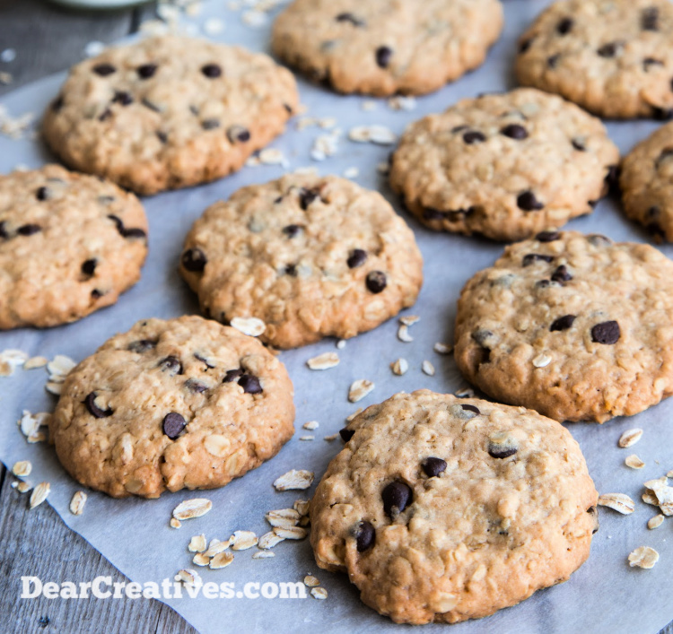 Oatmeal-Cookies-Easy-to-adapt-by-adding-raisins-chocolate-chips-nuts-or-dried-fruits.-Hands-down-our-favorite-recipe-we-have-used-for-3-generations.-DearCreatives.com