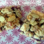 Raspberry Crumble Bars, bars, cookies, baked goods, recipe, dearcreatives.com treat recipe