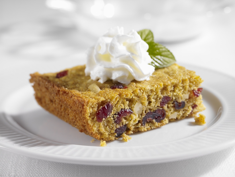 Cranberry Almond Anytime Bars #Recipe
