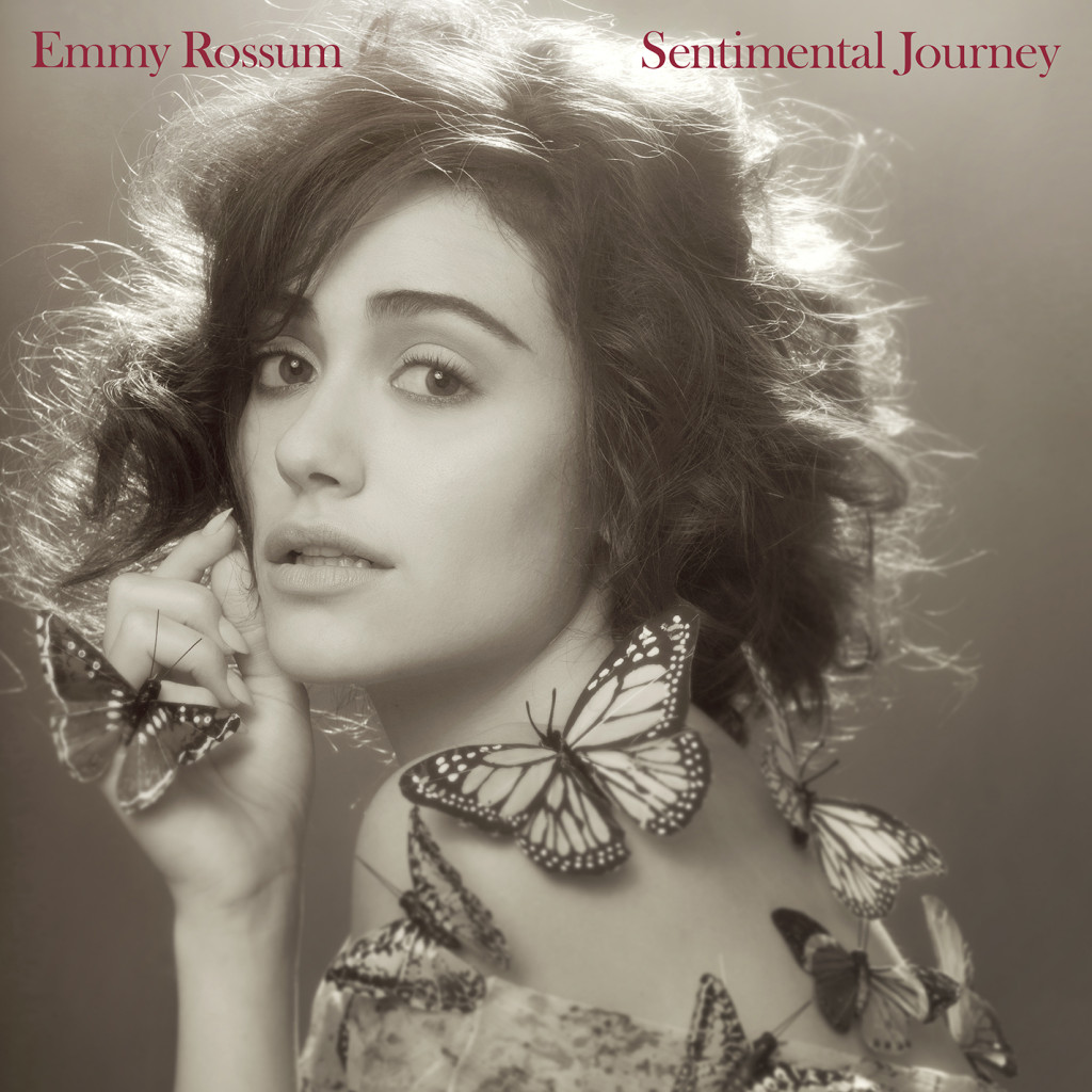 Emmy Rossum album cover, Album cover, Sentimental  Journey, Sentimental Journey album cover
