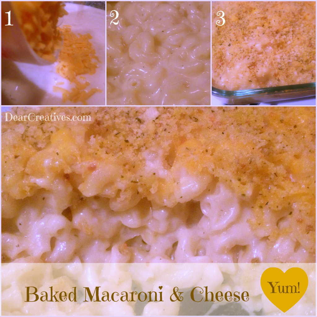 Comfort Food Baked Macaroni & Cheese