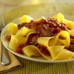 pasta sauce, Pappardelle with Portobello Bolognese Sauce, Recipe, dearcreatives.com recipes