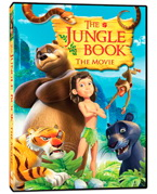 The jungle book the movie dvd, phase 4 film, kids movie, kids dvd