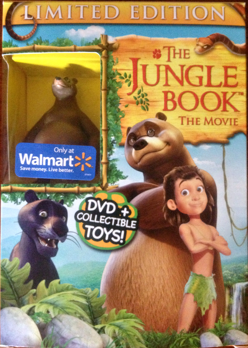 The Jungle Book The Movie DVD Review