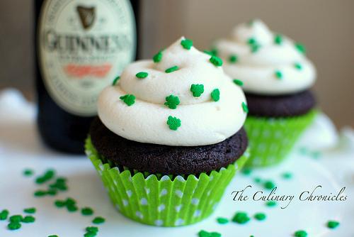 Chocolate Stout Cupcakes