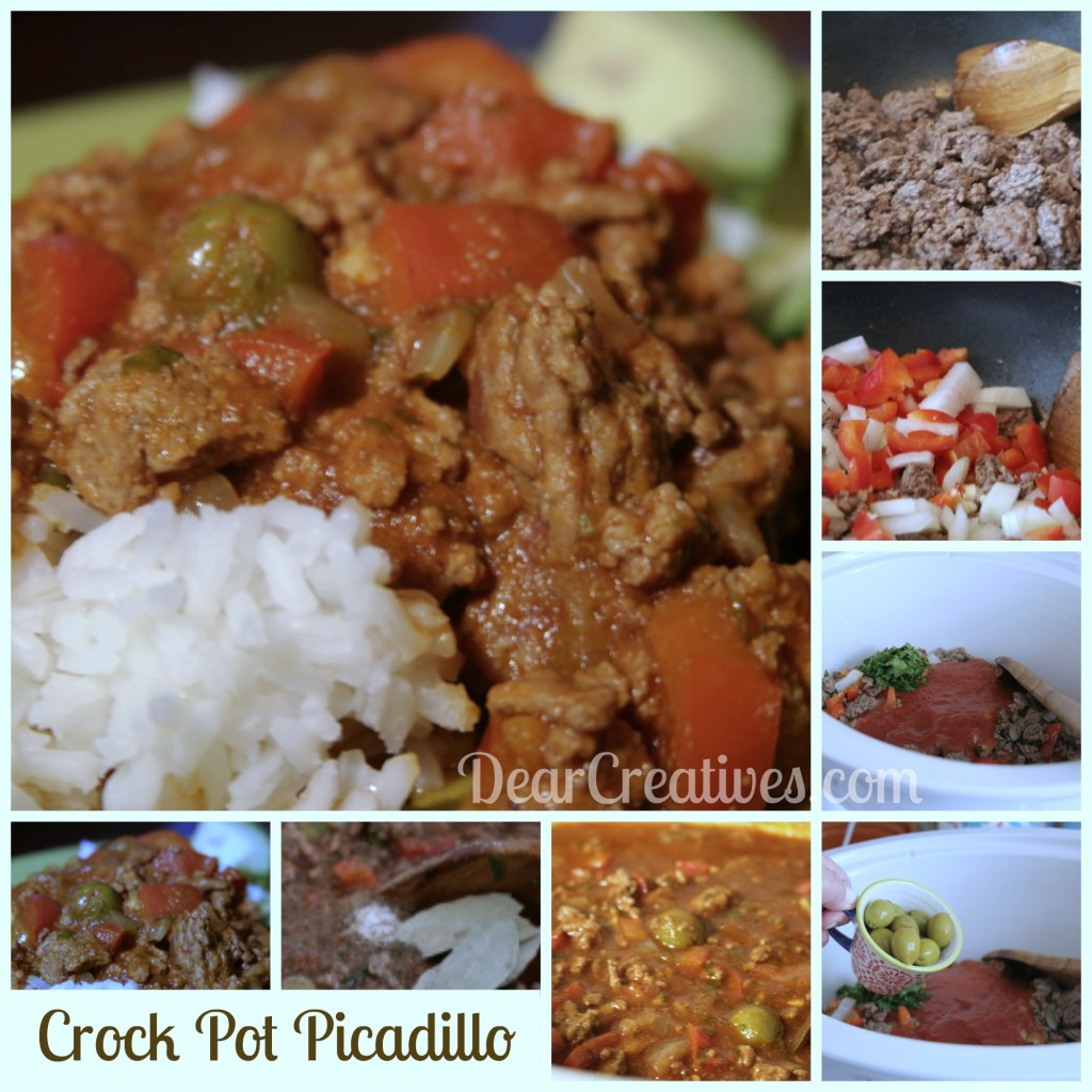Crock Pot Picadillo Steps,#cooking, #recipe, Theresa Huse 2013