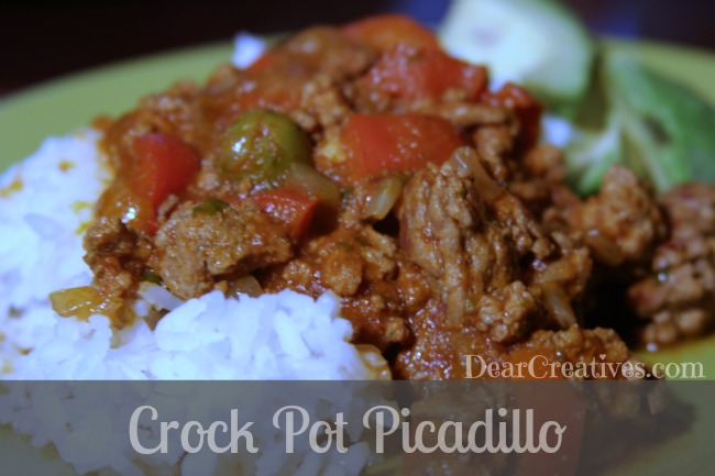 Crock Pot Picadillo Recipe — Dishmaps