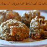 Oatmeal Cookies Recipe, Oatmeal Apricot Walnut Cookies, Oatmeal Cookie Variations, How to make oatmeal cookies, recipe, dearcreatives.com #cookierecipes