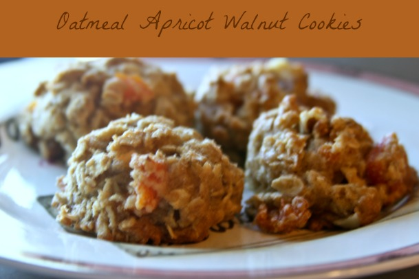Oatmeal Apricot Walnut Cookies, Theresa Huse 2013-1034