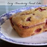 Strawberry Pound Cake