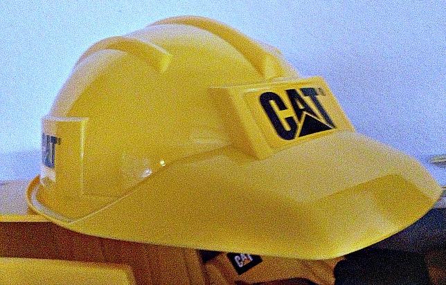 Cat Construction Hat Cat Toy Hard Hat
