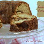 Cinnamon Bundt Cake