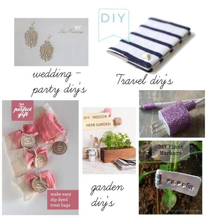 Easy Diys, wedding, travel, garden, summer diy's