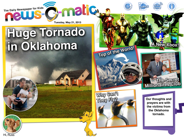 News o matic screen shot Oklahoma News