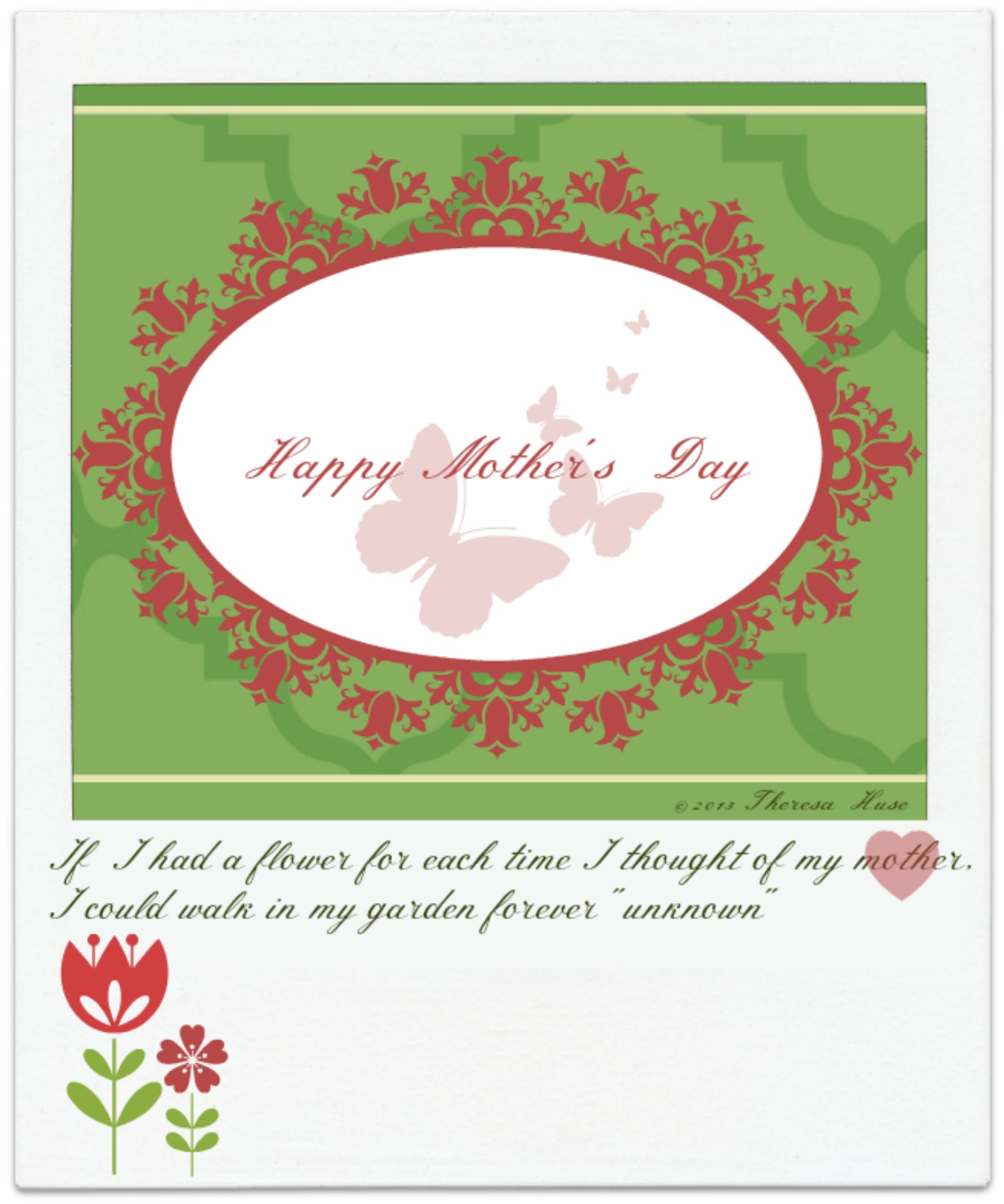 Last Minute Diy Projects & 2 Printables for Mother's Day