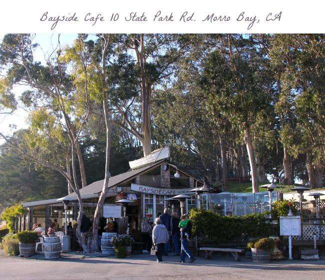 travel-Bayside Cafe, Morro Bay, CA, © 2013 Theresa Huse 2013