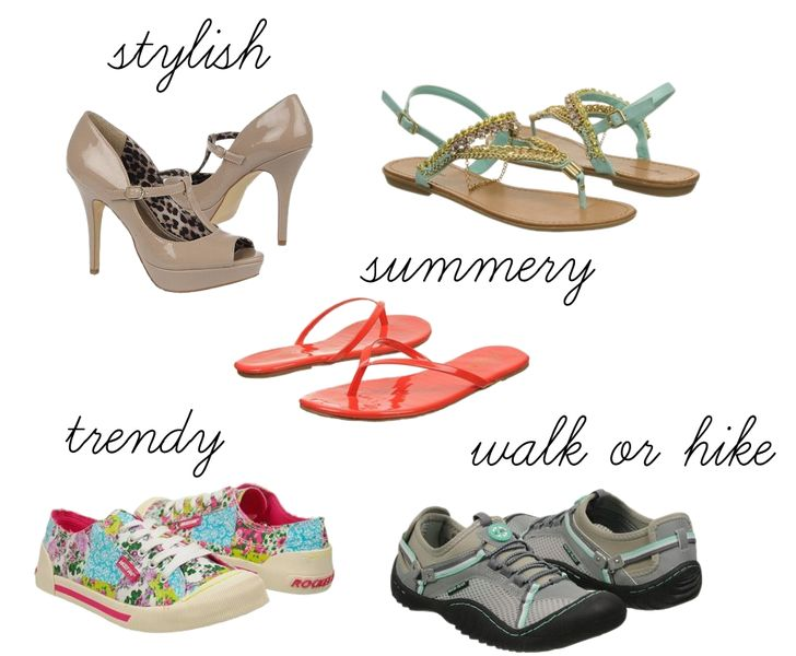 Famous Footwear Summer Shoes