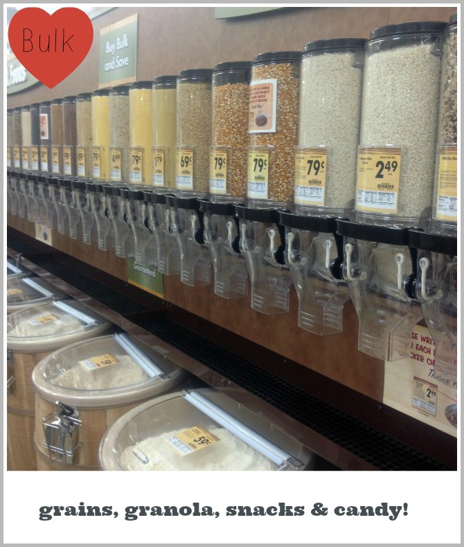 Smart & Final Paso Robles, CA Bulk Foods bulk grains, granola, snacks, candy