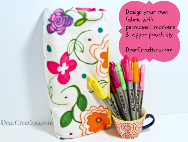 Diy Zipper Pouch, Theresa Huse 2013