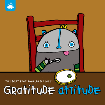 Gratitude Attitude Children's #Music Cd Release