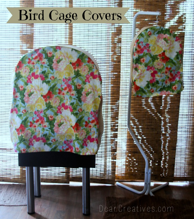 Bird Cage Covers made with Waverly Fabrics, Bird Cage Covers, 650x Theresa Huse 2013