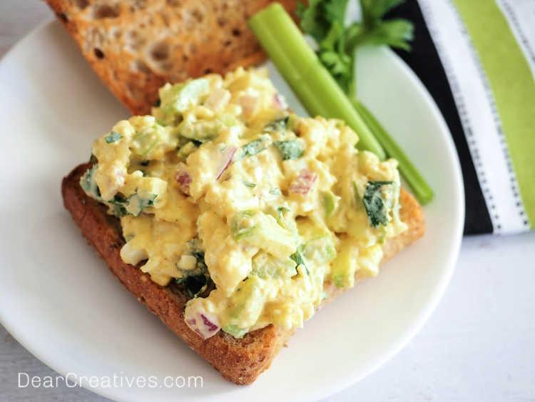 Egg Salad Sandwich Recipe + Variations