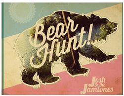 Josh and the Jamtones Bear Hunt Cd Cover