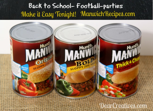 Manwich, Three Flavors Original, Bold, Thick and Chunky Manwich,