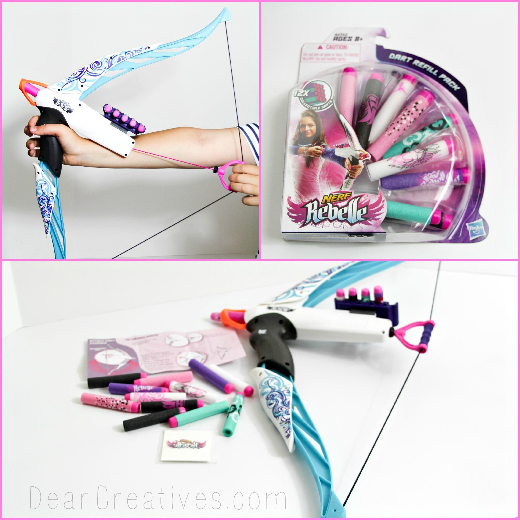 new toy in town nerf rebelle heartbreaker bow dear